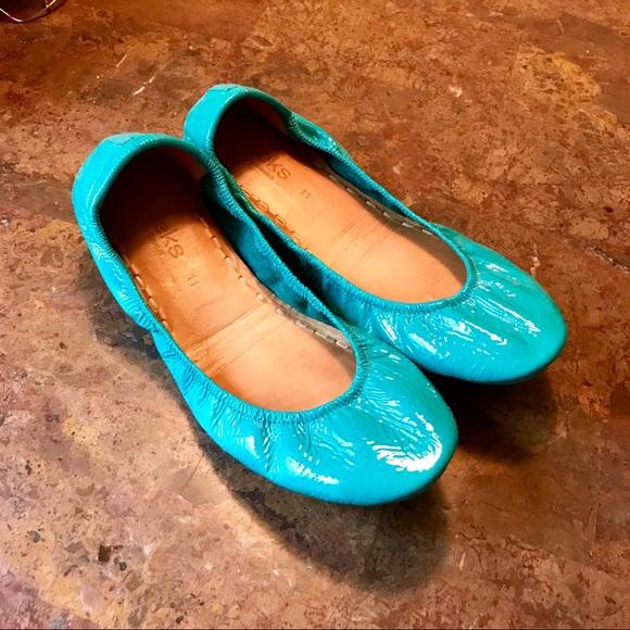 Tieks Shoes   Tieks In Tiek Blue Patent